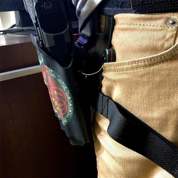 Meet Our Fast Carry System - The Scabbard